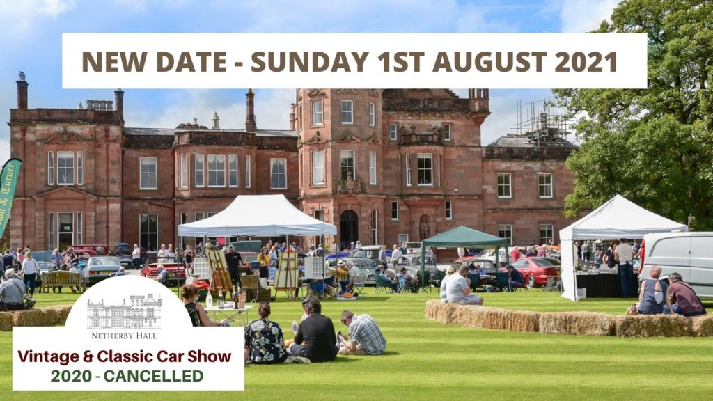 Netherby Hall Vintage and Classic Car Show 2020