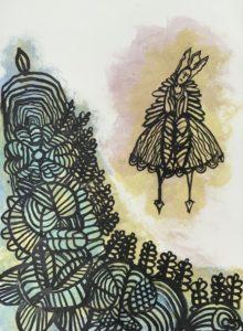 Metamorphosis Portrait by Artist Gillian Naylor