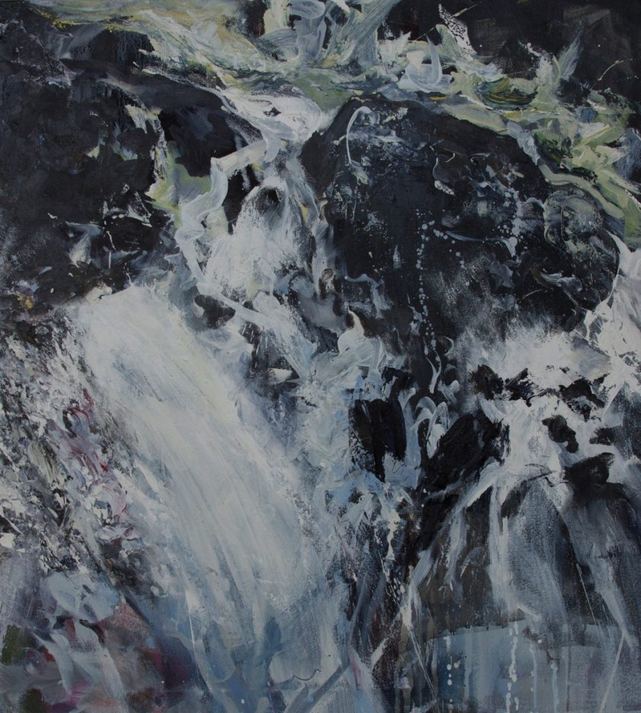 Crashing Waves, Outer Hebrides by Alison Critchlow